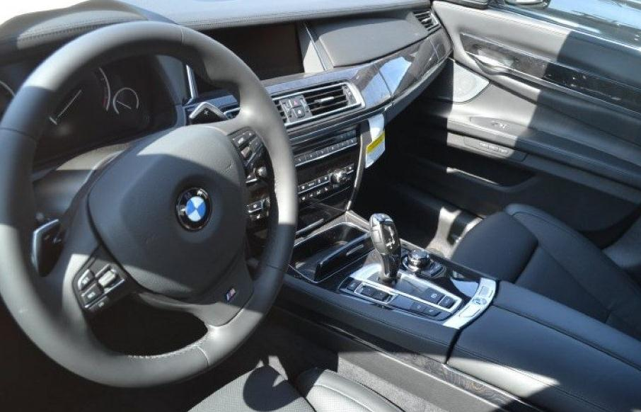 BMW 7-Series 750i Alpin 2013 года - фото салона
