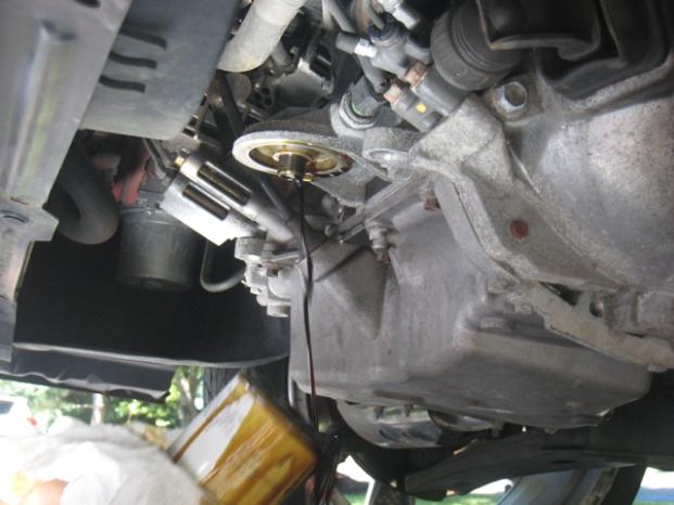 Замена масла в двигателе мазда 6